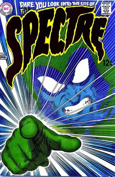 Spectre #8 comic books for sale