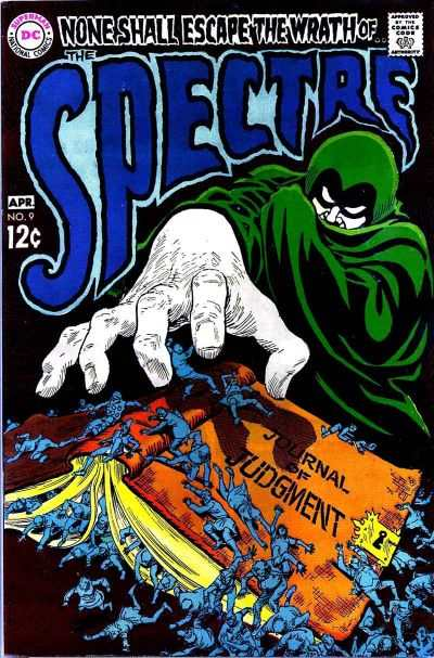 Spectre #9 comic books - cover scans photos Spectre #9 comic books - covers, picture gallery