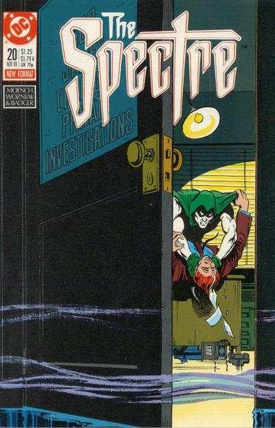 Spectre #20 comic books - cover scans photos Spectre #20 comic books - covers, picture gallery