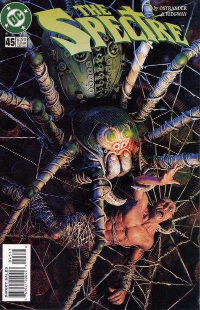 Spectre #45 Comic Books - Covers, Scans, Photos  in Spectre Comic Books - Covers, Scans, Gallery
