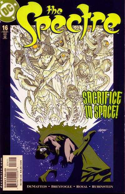 Spectre 2001 series # 14 near mint comic book