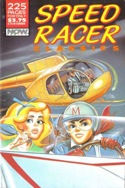 Speed Racer Classics #1 comic books - cover scans photos Speed Racer Classics #1 comic books - covers, picture gallery