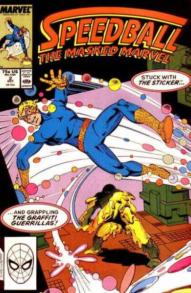 Speedball #2 Comic Books - Covers, Scans, Photos  in Speedball Comic Books - Covers, Scans, Gallery