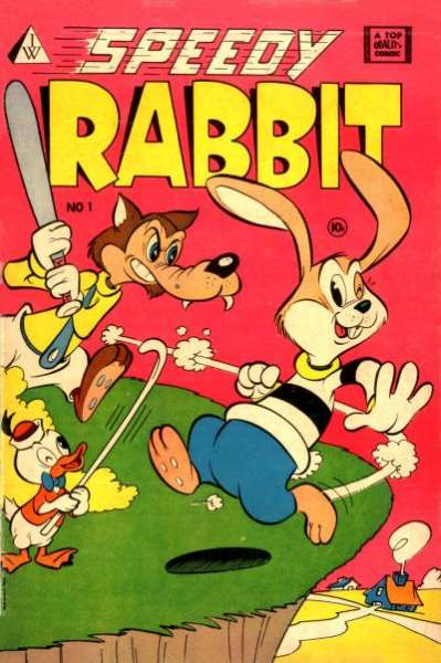 Speedy Rabbit comic books