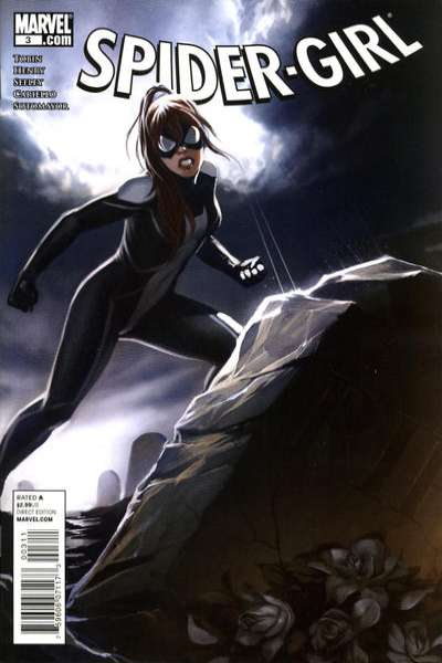 Spider-Girl #3 comic books - cover scans photos Spider-Girl #3 comic books - covers, picture gallery