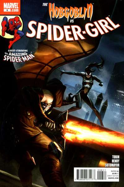 Spider-Girl #6 comic books - cover scans photos Spider-Girl #6 comic books - covers, picture gallery