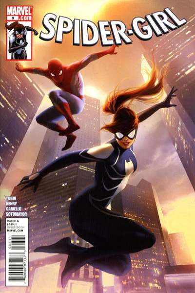 Spider-Girl #8 comic books - cover scans photos Spider-Girl #8 comic books - covers, picture gallery