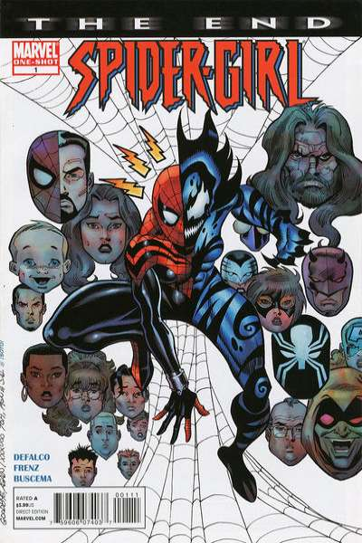 Spider-Girl: The End comic books