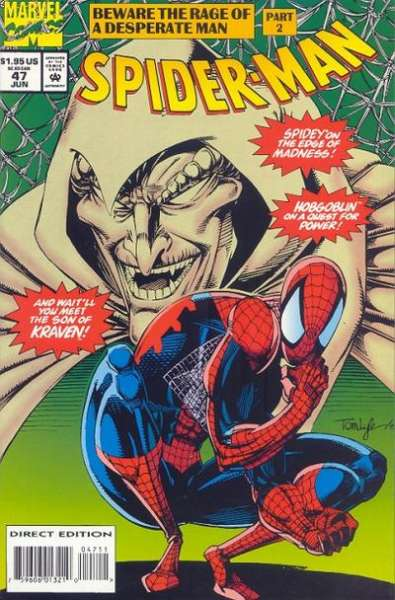 Spider-Man #47 Comic Books - Covers, Scans, Photos  in Spider-Man Comic Books - Covers, Scans, Gallery