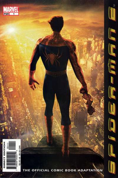 Spider-Man 2: The Movie comic books