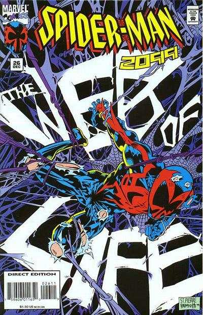 Spider-Man 2099 #26 Comic Books - Covers, Scans, Photos  in Spider-Man 2099 Comic Books - Covers, Scans, Gallery