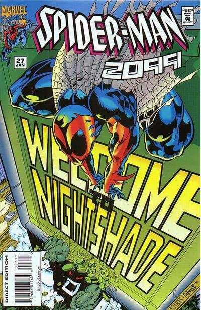 Spider-Man 2099 #27 Comic Books - Covers, Scans, Photos  in Spider-Man 2099 Comic Books - Covers, Scans, Gallery