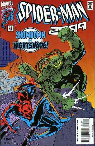 Spider-Man 2099 #28 Comic Books - Covers, Scans, Photos  in Spider-Man 2099 Comic Books - Covers, Scans, Gallery