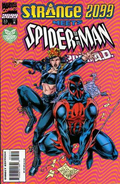 Spider-Man 2099 #33 comic books for sale