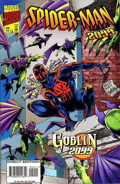 Spider-Man 2099 #40 Comic Books - Covers, Scans, Photos  in Spider-Man 2099 Comic Books - Covers, Scans, Gallery