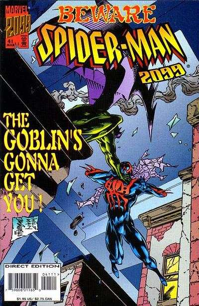 Spider-Man 2099 #41 Comic Books - Covers, Scans, Photos  in Spider-Man 2099 Comic Books - Covers, Scans, Gallery