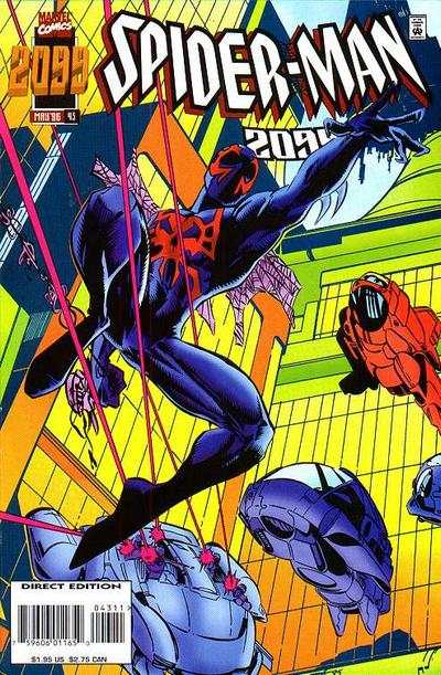 Spider-Man 2099 #43 Comic Books - Covers, Scans, Photos  in Spider-Man 2099 Comic Books - Covers, Scans, Gallery