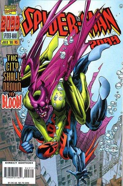 Spider-Man 2099 #45 Comic Books - Covers, Scans, Photos  in Spider-Man 2099 Comic Books - Covers, Scans, Gallery