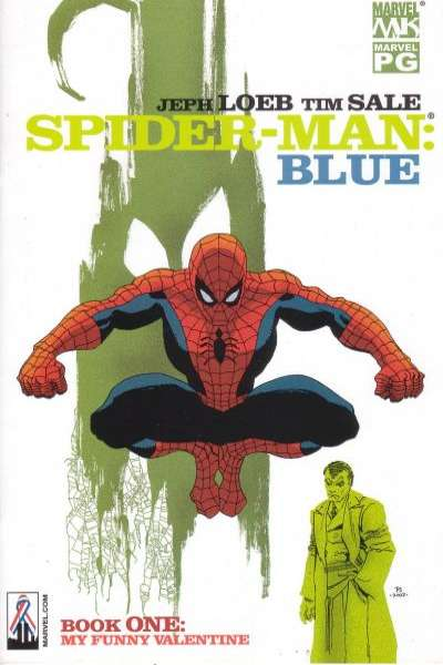 Spider-Man: Blue Comic Books. Spider-Man: Blue Comics.