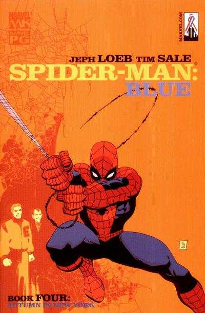 Spider-Man: Blue #4 comic books - cover scans photos Spider-Man: Blue #4 comic books - covers, picture gallery