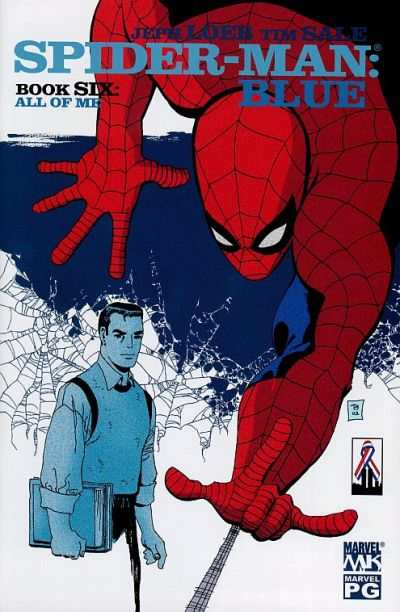 Spider-Man: Blue #6 comic books - cover scans photos Spider-Man: Blue #6 comic books - covers, picture gallery