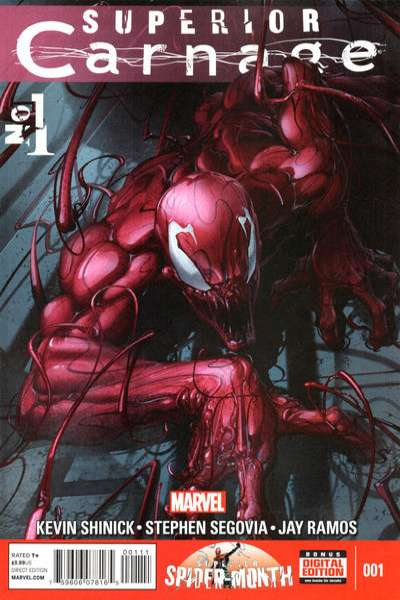 Spider-Man: Carnage #1 comic books - cover scans photos Spider-Man: Carnage #1 comic books - covers, picture gallery