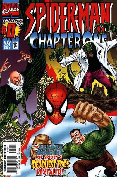 Spider-Man: Chapter One #0 comic books - cover scans photos Spider-Man: Chapter One #0 comic books - covers, picture gallery