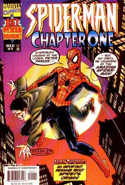 Spider-Man: Chapter One #1 comic books - cover scans photos Spider-Man: Chapter One #1 comic books - covers, picture gallery