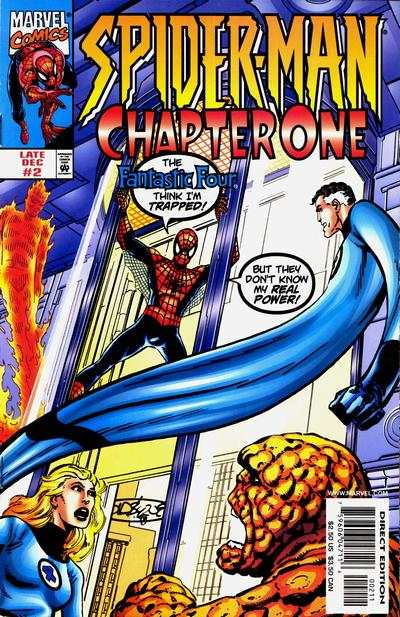 Spider-Man: Chapter One #2 comic books - cover scans photos Spider-Man: Chapter One #2 comic books - covers, picture gallery