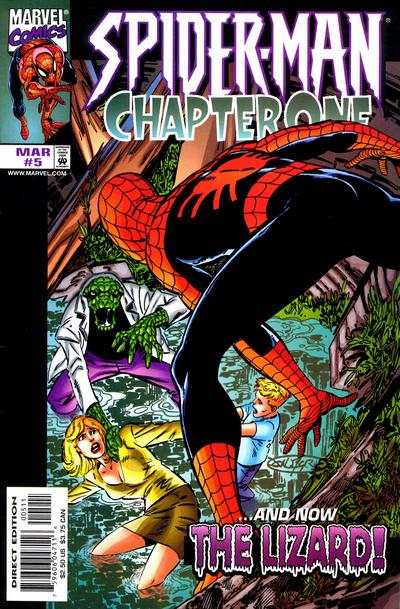 Spider-Man: Chapter One #5 comic books - cover scans photos Spider-Man: Chapter One #5 comic books - covers, picture gallery