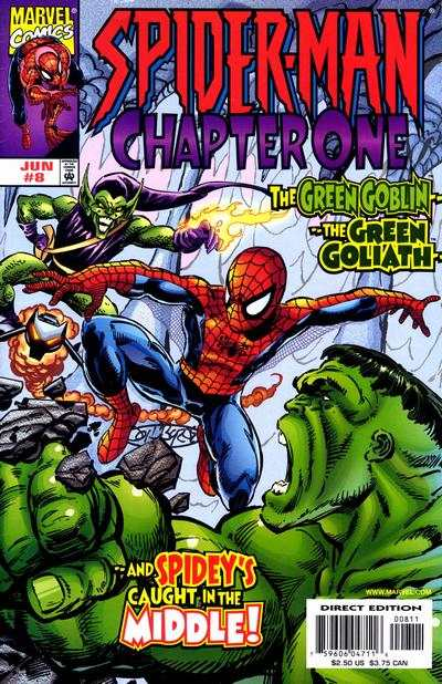 Spider-Man: Chapter One #8 comic books - cover scans photos Spider-Man: Chapter One #8 comic books - covers, picture gallery