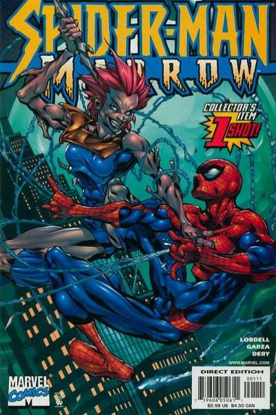 Spider-Man/Marrow #1 comic books - cover scans photos Spider-Man/Marrow #1 comic books - covers, picture gallery