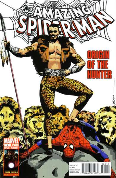 Spider-Man: Origin of the Hunter #1 comic books - cover scans photos Spider-Man: Origin of the Hunter #1 comic books - covers, picture gallery