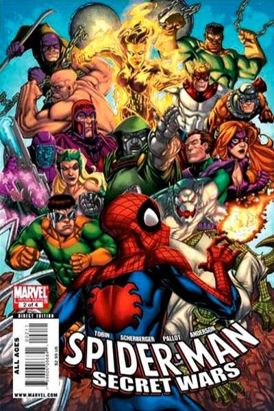 Spider-Man Secret Wars #2 comic books for sale