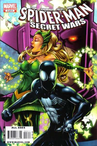 Spider-Man Secret Wars #3 comic books - cover scans photos Spider-Man Secret Wars #3 comic books - covers, picture gallery