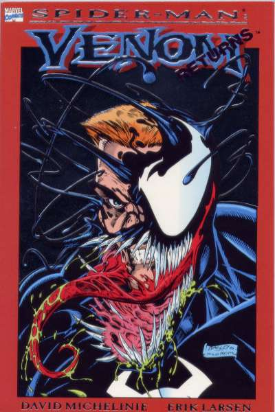 Spider-Man: Venom Returns #1 comic books for sale