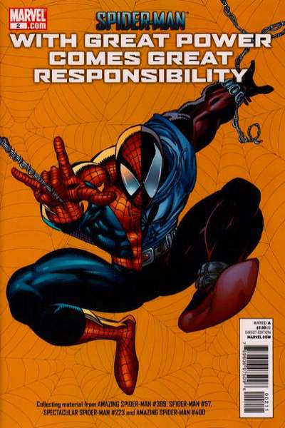 Spider-Man: With Great Power Comes Great Responsibility #2 comic books for sale