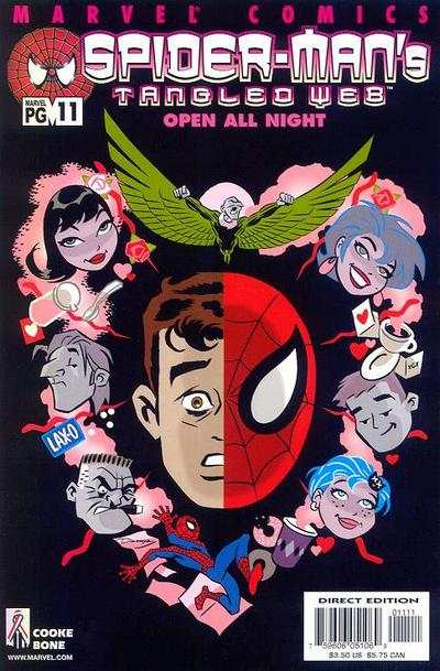 Spider-Man's Tangled Web #11 comic books - cover scans photos Spider-Man's Tangled Web #11 comic books - covers, picture gallery