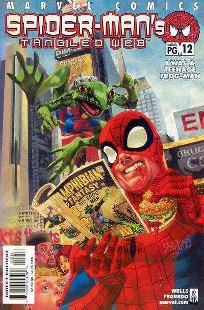 Spider-Man's Tangled Web #12 comic books - cover scans photos Spider-Man's Tangled Web #12 comic books - covers, picture gallery