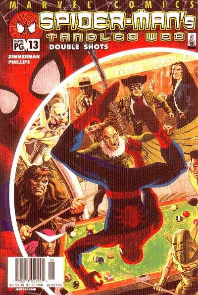 Spider-Man's Tangled Web #13 comic books - cover scans photos Spider-Man's Tangled Web #13 comic books - covers, picture gallery
