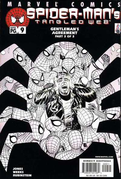 Spider-Man's Tangled Web #9 comic books - cover scans photos Spider-Man's Tangled Web #9 comic books - covers, picture gallery