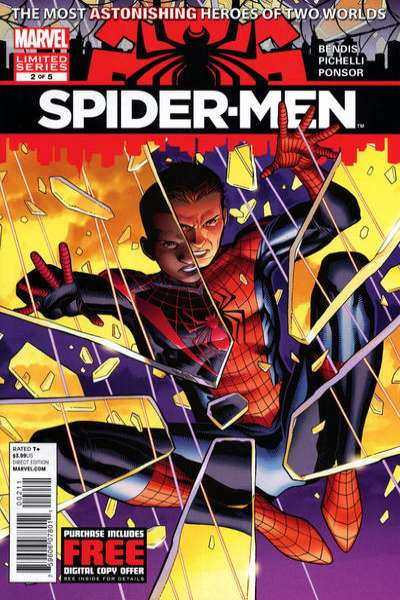 Spider-Men #2 Comic Books - Covers, Scans, Photos  in Spider-Men Comic Books - Covers, Scans, Gallery