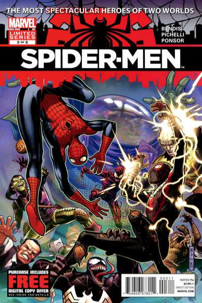 Spider-Men #3 Comic Books - Covers, Scans, Photos  in Spider-Men Comic Books - Covers, Scans, Gallery