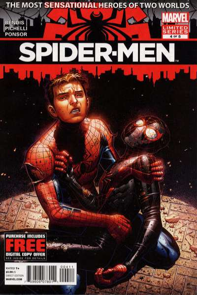Spider-Men #4 Comic Books - Covers, Scans, Photos  in Spider-Men Comic Books - Covers, Scans, Gallery