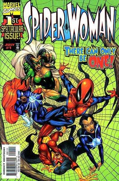 Spider-Woman #1 Comic Books - Covers, Scans, Photos  in Spider-Woman Comic Books - Covers, Scans, Gallery