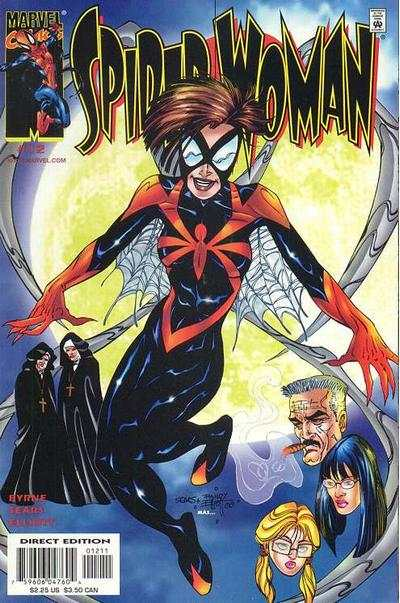Spider-Woman #12 comic books - cover scans photos Spider-Woman #12 comic books - covers, picture gallery