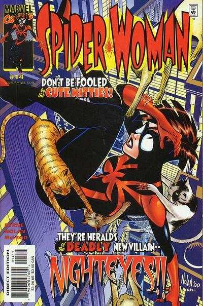 Spider-Woman #14 Comic Books - Covers, Scans, Photos  in Spider-Woman Comic Books - Covers, Scans, Gallery