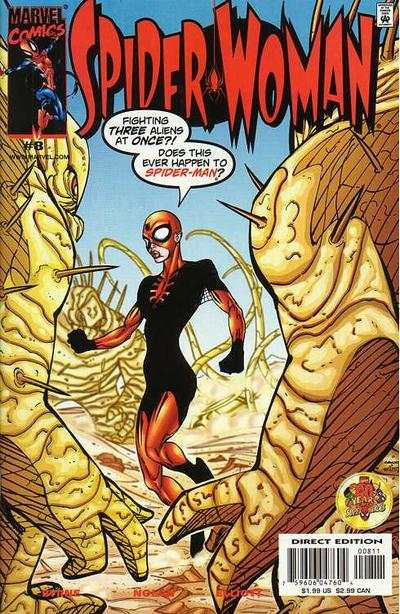 Spider-Woman #8 Comic Books - Covers, Scans, Photos  in Spider-Woman Comic Books - Covers, Scans, Gallery