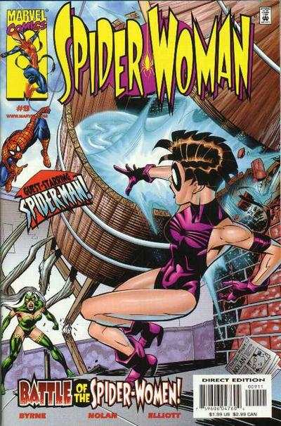 Spider-Woman #9 Comic Books - Covers, Scans, Photos  in Spider-Woman Comic Books - Covers, Scans, Gallery