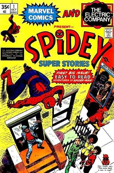 Spidey Super Stories comic books